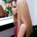 Adriana – Peruka naturalna długa z odrostem Full Lace