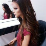 Beata – Peruka naturalna długa ombre Brown