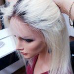 Natalia – Peruka naturalna ombre Blond