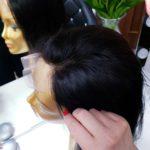 Dopinka HELENA – Włosy naturalne na siatce 45cm