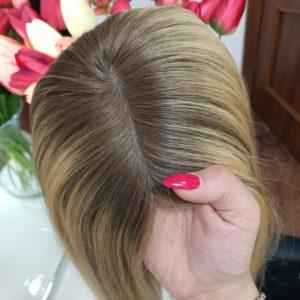 Topper Emma – Włosy naturalne z mikroskórą 40cm