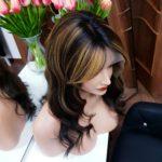 Alisa – Peruka naturalna z refleksami