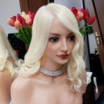 Topper MONROE – Włosy słowiańskie Blond 35cm