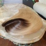 Topper AURORA –  Włosy europejskie ombre blond 50cm