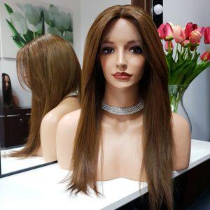 Aleksandra – Peruka naturalna cieniowany przód