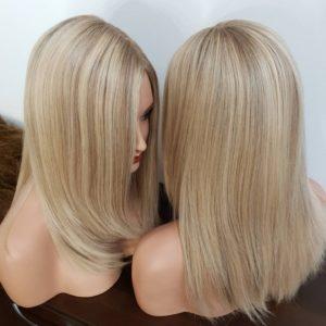 Topper HANNA – Włosy naturalne 40cm 120%