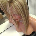Topper AMALIA –  Włosy naturalne Blond Mix 40cm