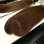 Topper DAISY –  Włosy naturalne Brąz #4