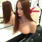Topper DARIA –  Włosy naturalne Brąz #2 40-45cm