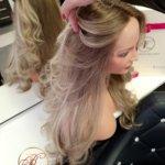 Isabelle – Peruka naturalna długa rozświetlone końcówki Slavic hair
