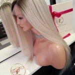 ELENA – Peruka naturalna Full Lace 50cm